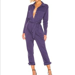 ONE TEASPOON FRENCH BLUE SOHO JUMPSUIT SMALL NEW
